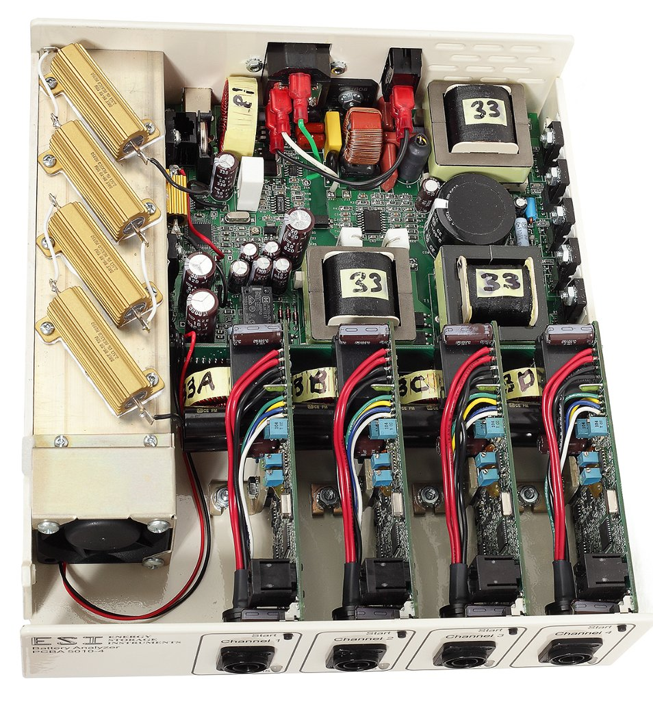Battery Analyzer Four Channel Energy Storage Instruments Electrical Testers Product Photo Gallery